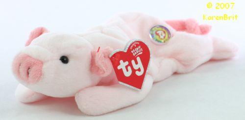 69b3c26e244 Ty Beanie Babies - Squealer (BBOC)