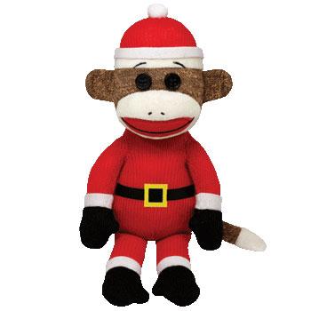 SOCK MONKEY (Santa)